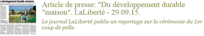 Article La Liberté - médias